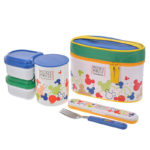 DSJ Mickey Lunch box with ultralight insulation jar Colorful pop