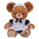 DSJ UniBearsity Plush Costume Halloween Girl Maid