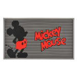 DSJ Mickey doormat red silhouette