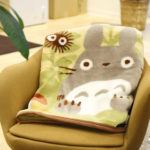 GHI My Neighbor Totoro Blanket : Autumn in the forest