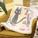 GHI Kiki's Delivery Service Blanket : Jiji and children