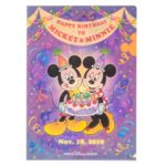 TDR Mickey and Minnie Screen Debut 2019 Clear Folder