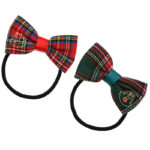 DSJ Chip and Dale AUTUMN COLLECTION Hair Ponny Ribbon