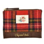 DSJ Chip and Dale AUTUMN COLLECTION Harris Tweed Pouch