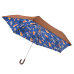 DSJ Holiday Lady and Trump Folding Umbrella
