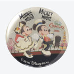 TDR Christmas 2019 It's Christmas Time Tin Badge