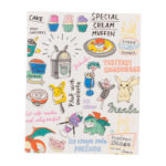 PCO Pokemon diner Book type sticky note