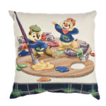 DSJ Chip and Dale AUTUMN COLLECTION Cushion