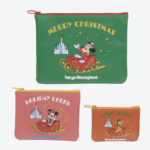 TDR Christmas 2019 Retro Goods Pouch Set
