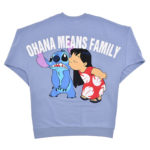 DSJ Message Logo Lilo and Stitch Sweatshirt