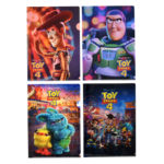 DSJ Toy Story 4 Logo Clear Folder Set