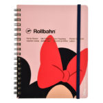 DSJ Close-Up Minnie Mouse Delfinix Rollbahn Notebook