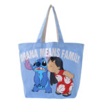 DSJ Message Logo Lilo and Stitch Tote Bag