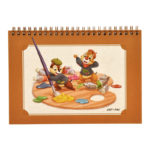 DSJ Chip and Dale AUTUMN COLLECTION Sketch Book