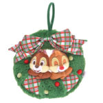 DSJ Disney Christmas 2019 Chip And Dale Plush Doll Wreath