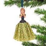 DSJ Christmas Ana Ornament dress