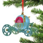 DSJ Christmas Pumpkin carriage Ornament cinderella