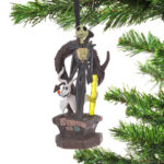DSJ Christmas Jack Skellington & Zero Ornament light up