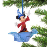 DSJ Christmas Mickey Ornament Light Up Fantasia