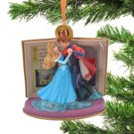DSJ Christmas Princess Aurora & Prince Philip Ornament Blue Legacy