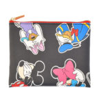 DSJ Mickey & Friends Pouch (S) Flat