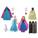 DSJ Frozen Disney wardrobe figure set