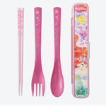 TDR Little Mermaid Ariel Cutlery For Lunch Box Spoon Fork and Chopsticks