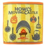 GHI Howl's Moving Castle Calcifer And Kitchen Wash Towel