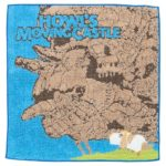 GHI Howl's Moving Castle Heen And Moving Castle Mini Towel