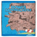 GHI Howl's Moving Castle Heen And Moving Castle Wash Towel