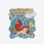 TDR Little Mermaid King Tritons Concert Pin Badge