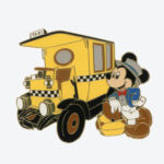 TDR Mickey Mouse Taxi  Pin Badge
