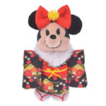 DSJ nuiMOs Plush Costume Kimono 2020 New Year for Girl Black