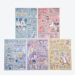 TDR Fun Friends Clear Folder Set
