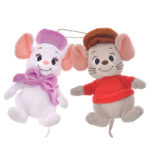 DSJ Year of Mouse Bianca and Barnerd Plush Badge