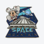 TDR Mickey Mouse Space Mountain Pin Badge