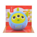 DSJ Eto Disney 2020 Alien / Little Green Men Daruma Mascot
