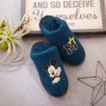 BEL Mickey Mouse Boa Slippers Room Shoes M (23-25 cm)