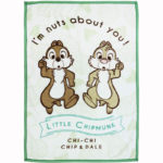 DSJ Sunny Holiday Chip And Dale Blanket Nut Panic (S)