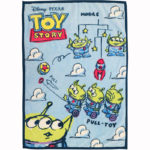 DSJ  Little Green Men / Aliens Blanket Sunny Holiday (S)