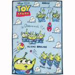 DSJ  Little Green Men / Aliens Blanket Sunny Holiday