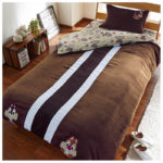 DSJ Chip And Dale Applique Microfiber Bedclothes 3 Piece Set (Twin)