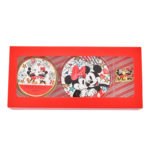DSJ Holiday Mickey and Minnie Handcream ,Hand Mirror, and pin badge set