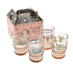 DSJ Alice Sweet Alice in Wonderland Stacking glass Set