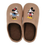 DSJ Mickey And Minnie Brown slippers With Low Resilience Urethane (L)