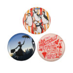 DSJ Tin Badge Collection Mary Poppins