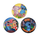 DSJ Tin Badge Collection Lilo & Stitch, angel