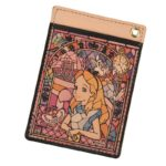 DSJ Stained Glass Collection Alice in Wonderland Pass Case
