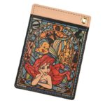 DSJ Stained Glass Collection Ariel And Flander Pass Case