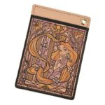 DSJ Stained Glass Collection Tangled Rapunzel And Pascal Pass Case